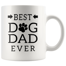 Load image into Gallery viewer, Best Dog Dad Ever Mug