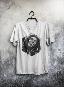 Bob Marley T Shirt Men T-Shirt Reggae Shirt Man - inline-mall