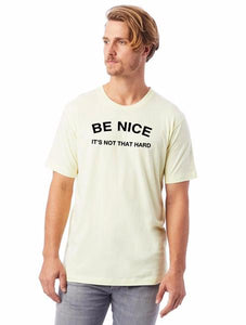 Be Nice Pale Yellow