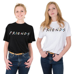 Women Casual TShirt FRIENDS Letter Print