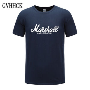 New Marshall T Shirt Logo Amps Amplification