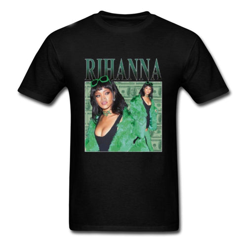 Hot New Fashion TShirts Rihanna T-Shirt men 100% cotton