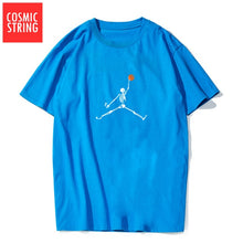 Load image into Gallery viewer, COSMIC STRING 100% cotton short sleeve cool basketball men t shirt