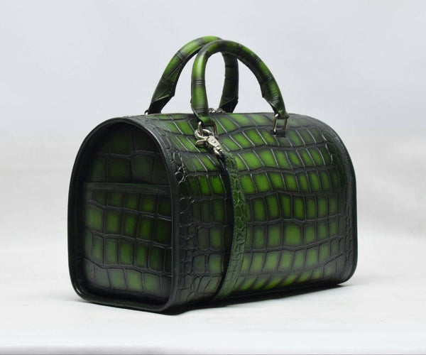 Green Sharar Mini Duffle