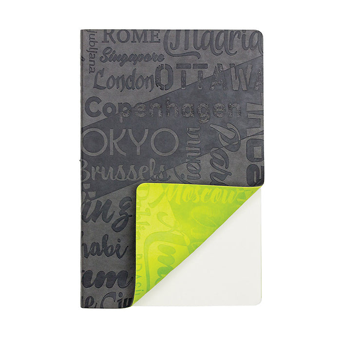 A5 Infusion Double Flexi PU Notebook