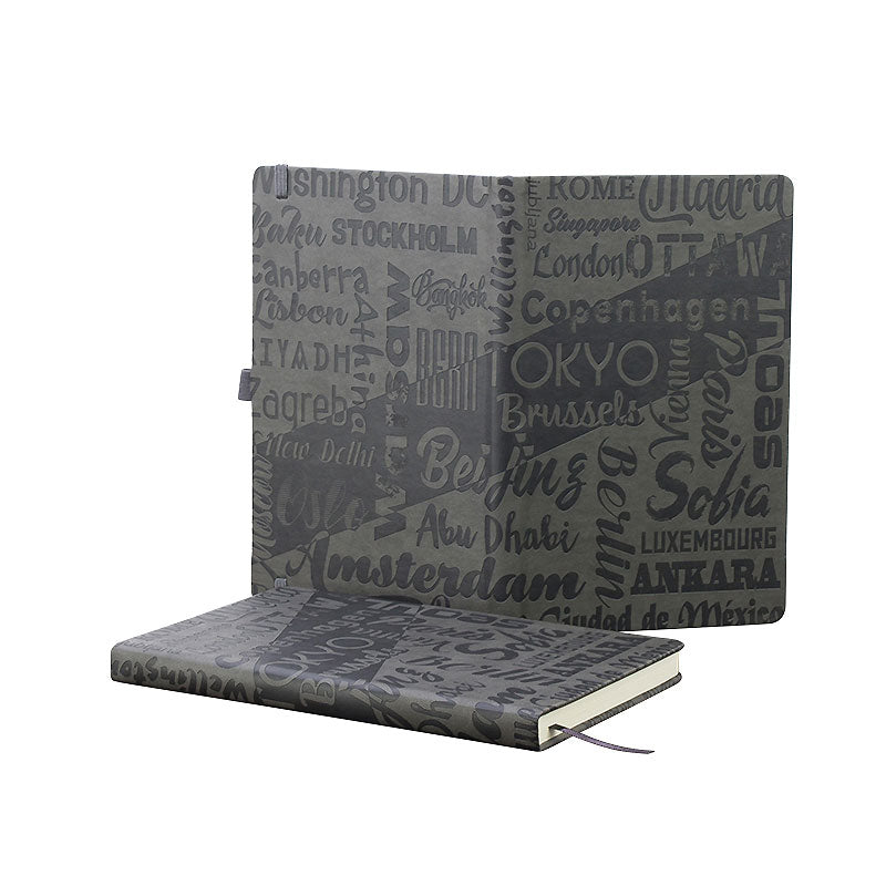 Infusion A5 full Embossed Cover Notebook