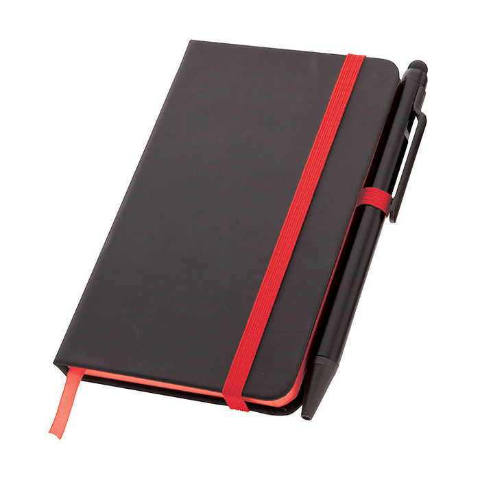 A6 Noir Edge Notebook