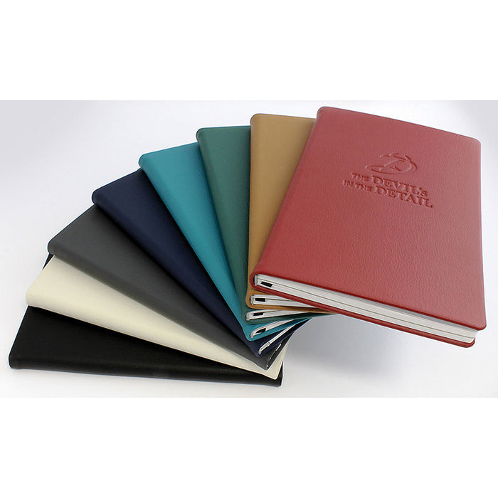 Recycled E-Leather Notebook Sustainably Sourced Paper