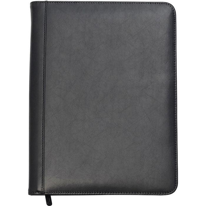 Goudhurst Leather A4 Zipped Conference Folder Full Colour