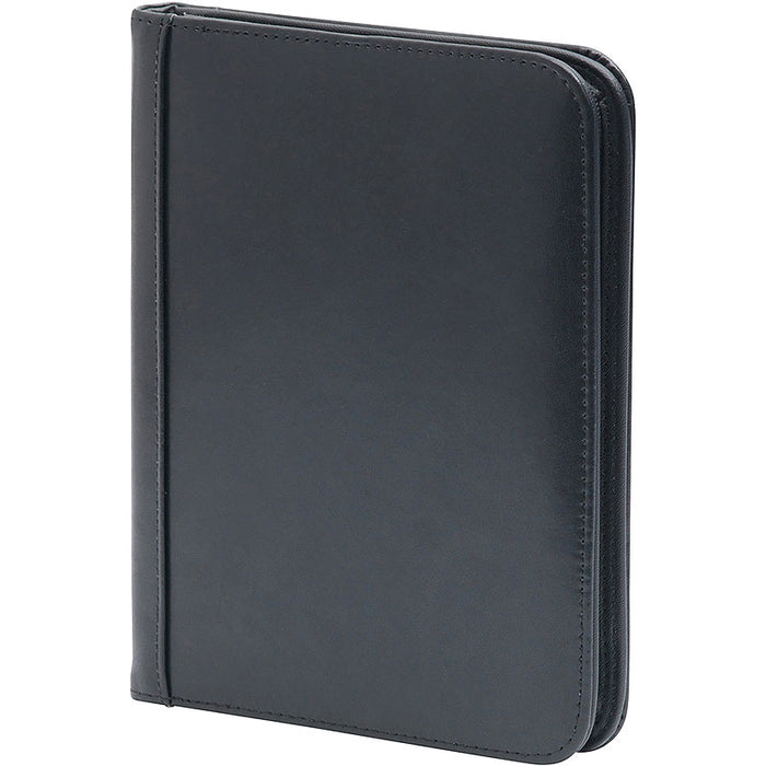 A5 Goudhurst Leather Zipped Folder