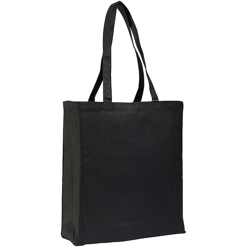 Adlington 12oz Canvas Tote Bags Black