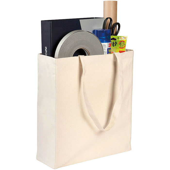Adlington 12oz Canvas Tote Bags Natural