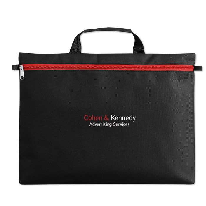 600D Polyester Document Bag