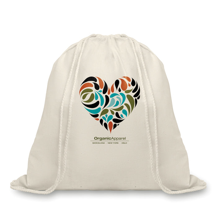 Organic Cotton Drawstring Bag