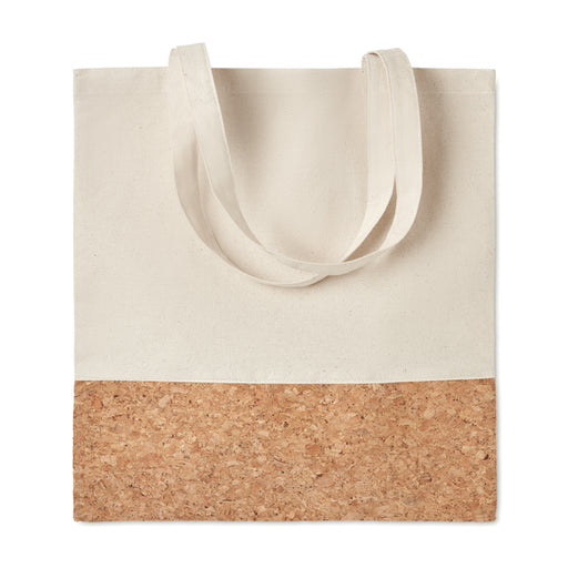 Shopping Bags with Cork Details