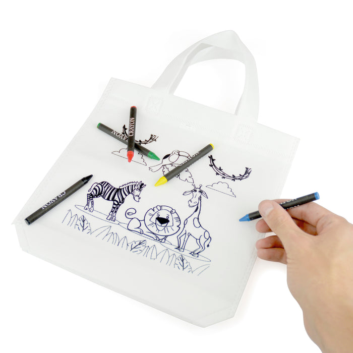 Kids Colouring Bag