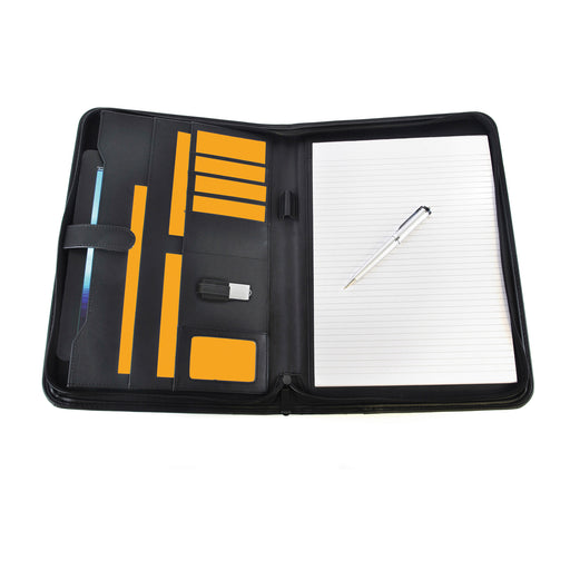 Pickering A4 Zipped Conference Folder