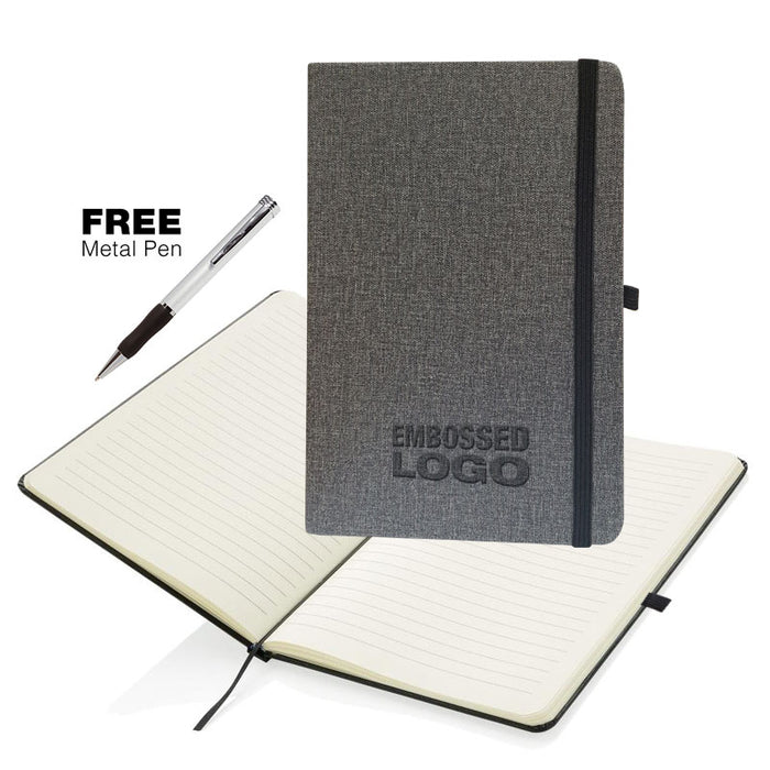A5 Soft Feel Otter  Notebooks with Free Pen Offer