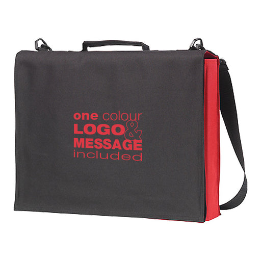 Cheadle Coloured Conference Bags which opens to hold documents and event gifts.