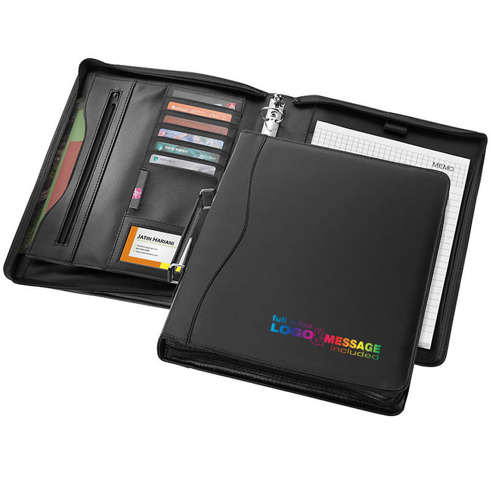 Ebony A4 Briefcase Portfolio Full Colour