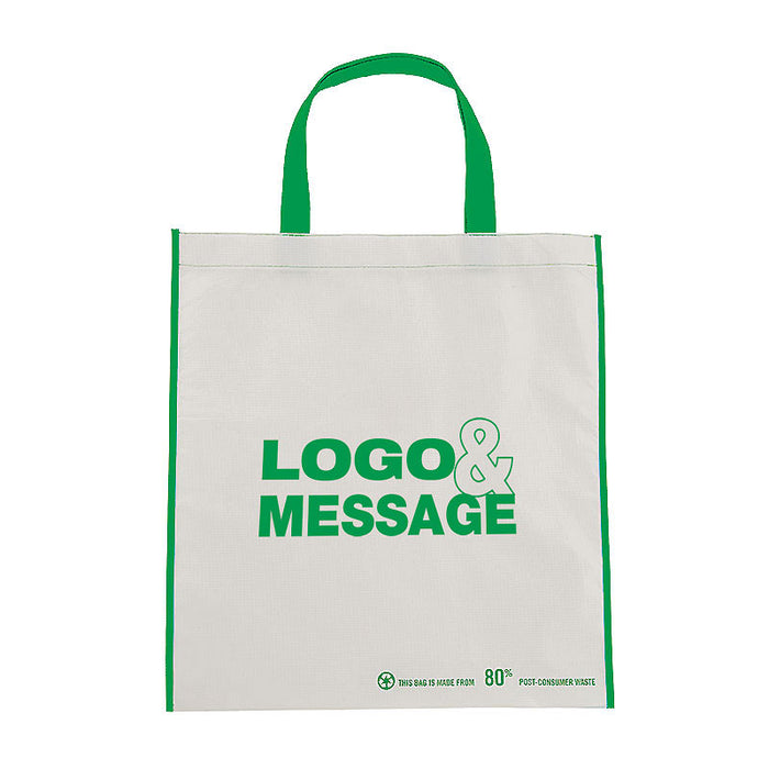 Laminated Non Woven Eco Shopping Bags (80% Recycled)
