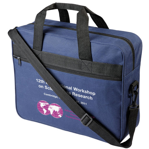 Shrigley 600D Conference Bags Navy Blue