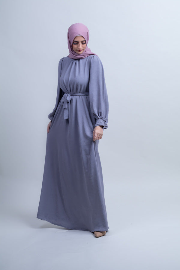 Twilight Meadow Plain Maxi - Dim Horizon