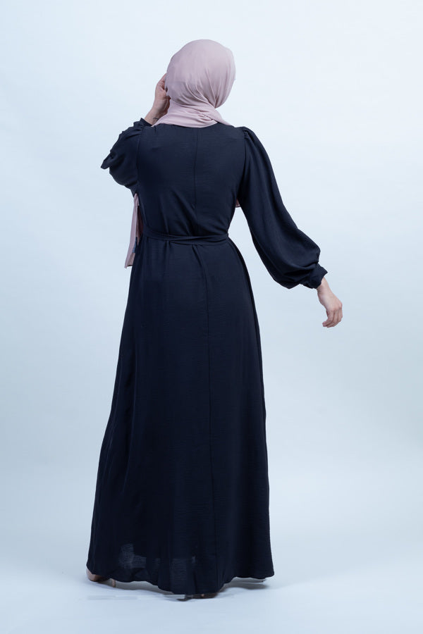 Twilight Meadow Plain Maxi - Shadow