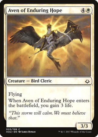 Aven of Enduring Hope [Hour of Devastation] | HQ Gaming SA