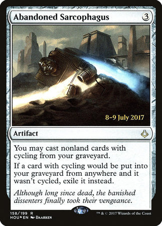 Abandoned Sarcophagus [Hour of Devastation Promos] | HQ Gaming SA