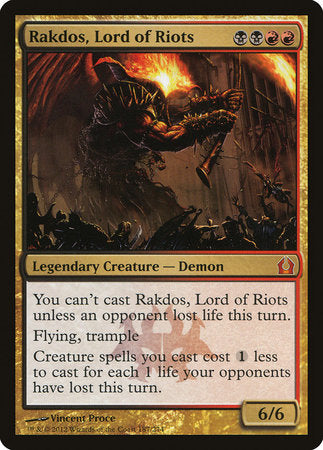 Rakdos, Lord of Riots [Return to Ravnica] | HQ Gaming SA