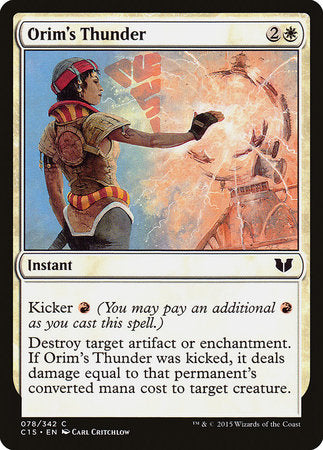 Orim's Thunder [Commander 2015] | HQ Gaming SA