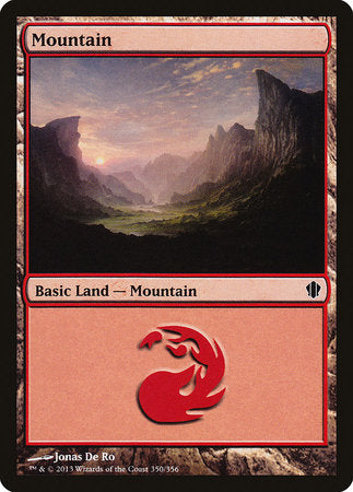 Mountain (350) [Commander 2013] | HQ Gaming SA