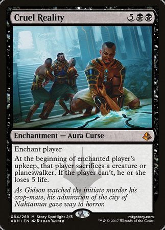 Cruel Reality [Amonkhet] | HQ Gaming SA