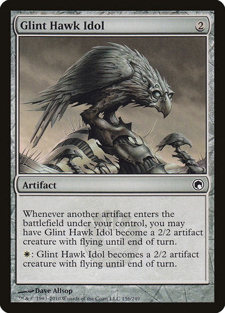 Glint Hawk Idol [Scars of Mirrodin] | HQ Gaming SA