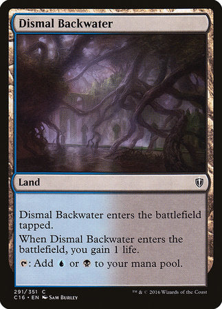 Dismal Backwater [Commander 2016] | HQ Gaming SA
