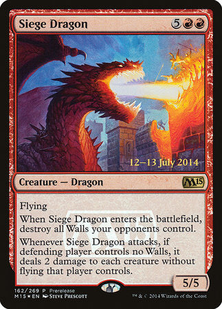 Siege Dragon [Magic 2015 Promos] | HQ Gaming SA