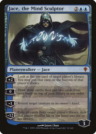 Jace, the Mind Sculptor [Worldwake] | HQ Gaming SA