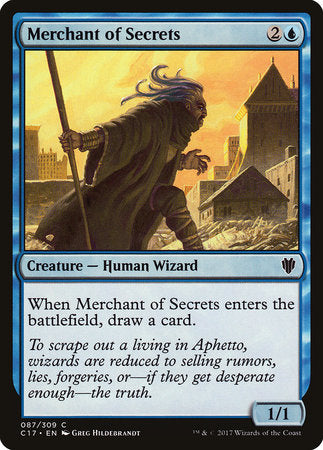 Merchant of Secrets [Commander 2017] | HQ Gaming SA