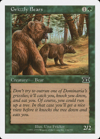 Grizzly Bears [Classic Sixth Edition] | HQ Gaming SA