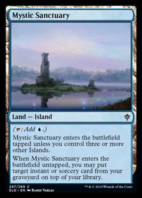 Mystic Sanctuary [Throne of Eldraine] | HQ Gaming SA