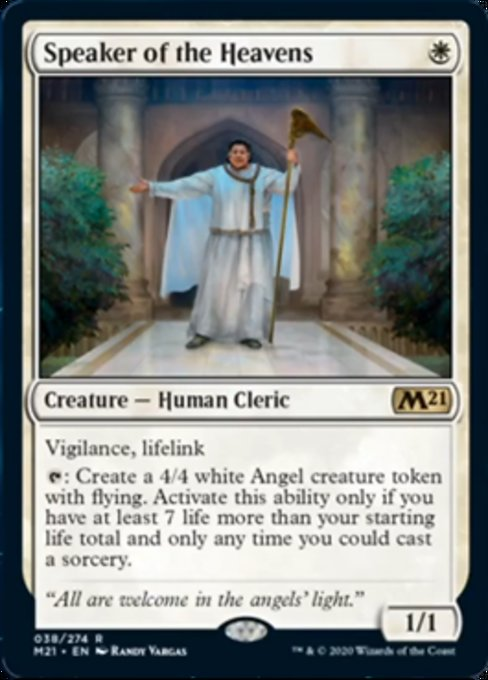 Speaker of the Heavens [Core Set 2021] | HQ Gaming SA