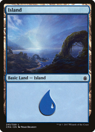 Island (293) [Commander Anthology] | HQ Gaming SA