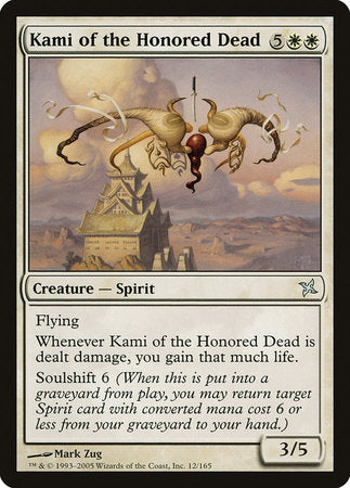 Kami of the Honored Dead [Betrayers of Kamigawa]