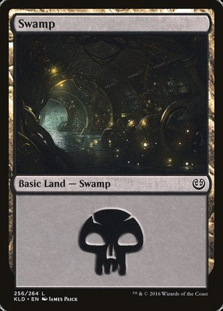 Swamp (256) [Kaladesh] | HQ Gaming SA