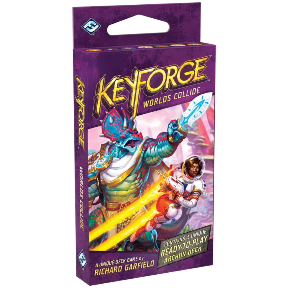 KeyForge: Worlds Collide Archon Deck Display (Pre-Order) | HQ Gaming SA