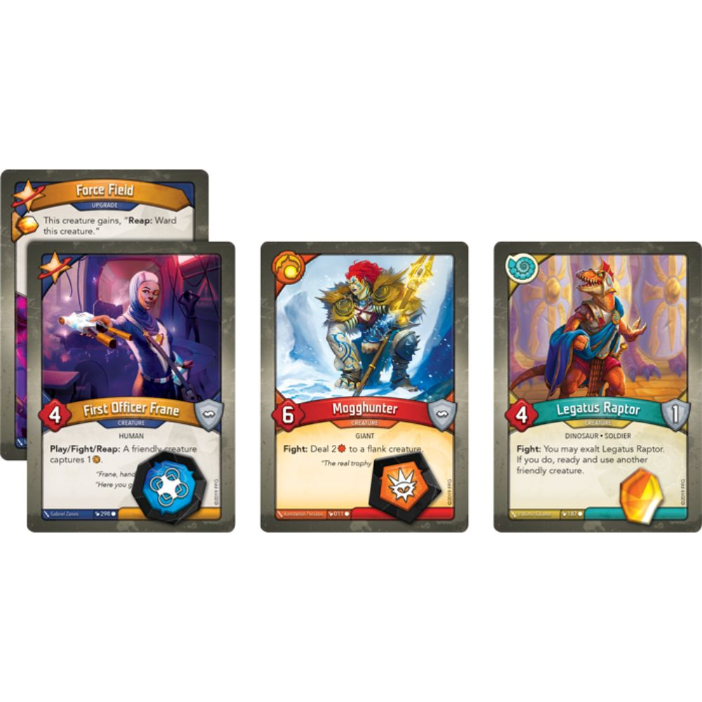 KeyForge: Worlds Collide Deluxe Archon Deck (Pre-Order) | HQ Gaming SA
