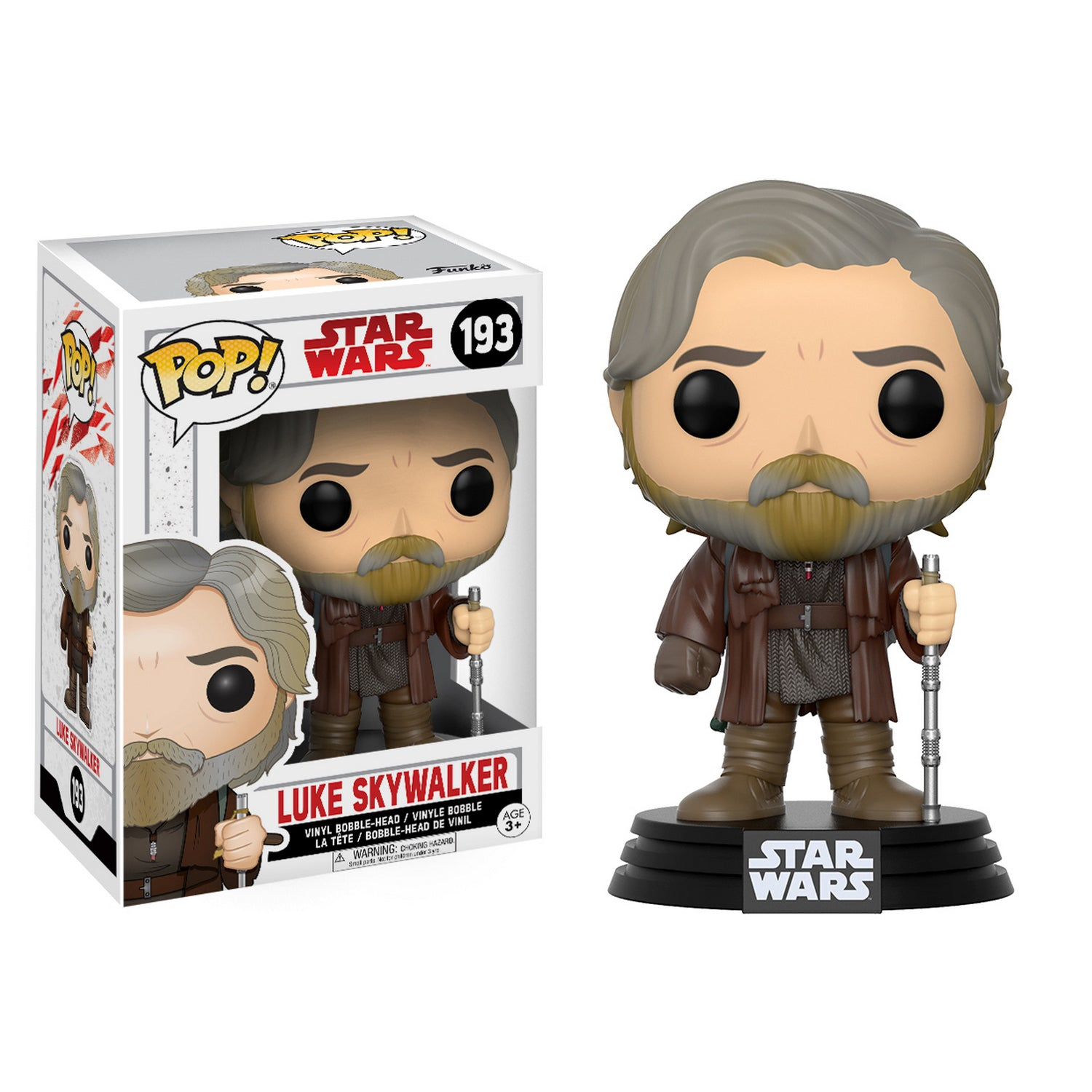 Funko POP! Bobble Star Wars: The Last Jedi – Luke Skywalker | HQ Gaming SA