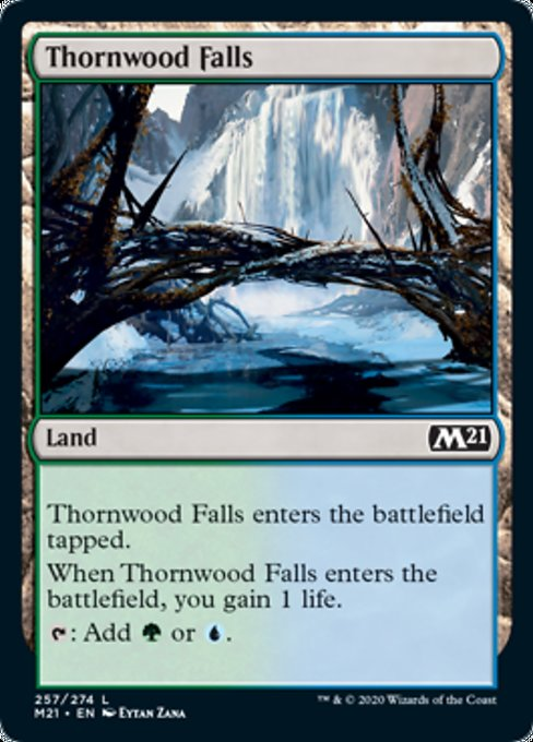 Thornwood Falls [Core Set 2021] | HQ Gaming SA