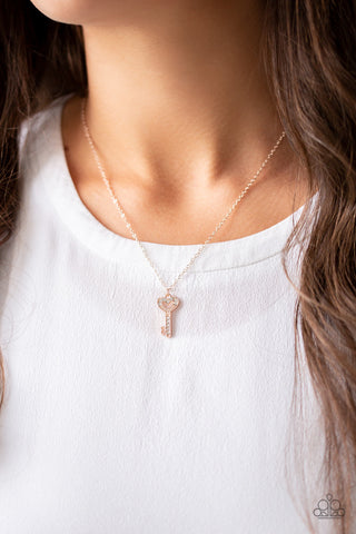 Rose Gold Paparazzi Necklaces Ejbling4kingsqueens